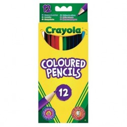 Crayola - 12 coloured pencils