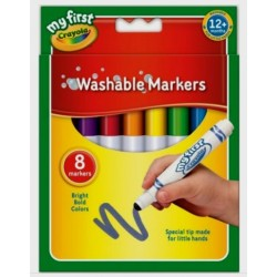 Crayola My First Crayola Washable Markers - pack of 8