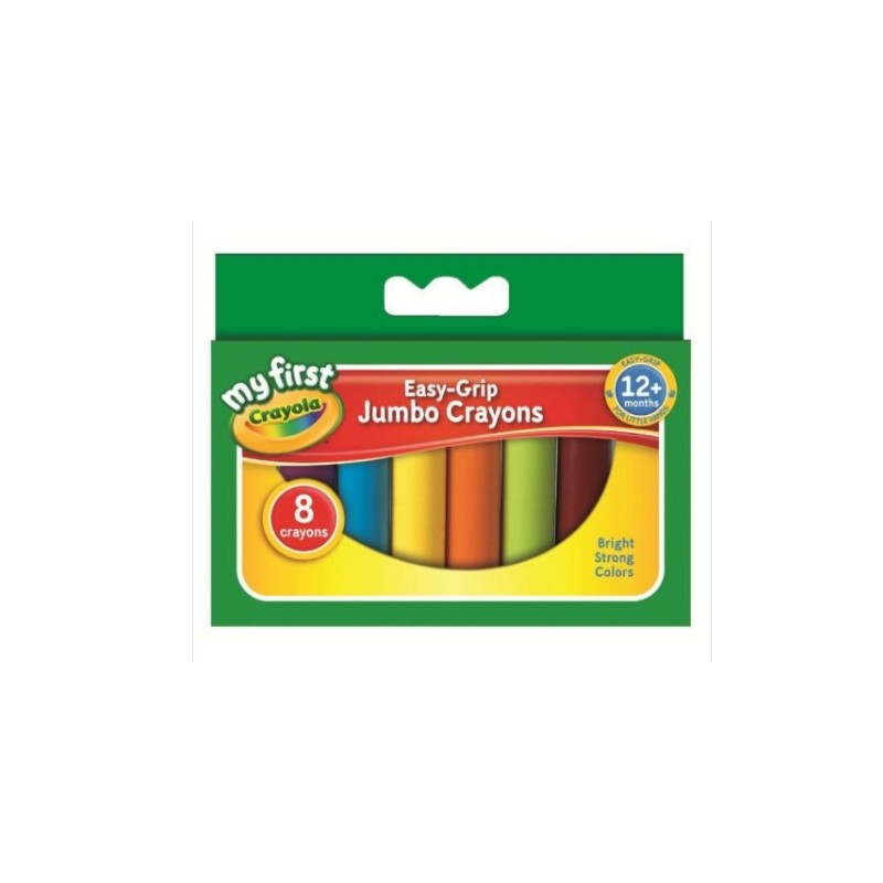 Crayola Beginnings Jumbo Crayons - pack of 8