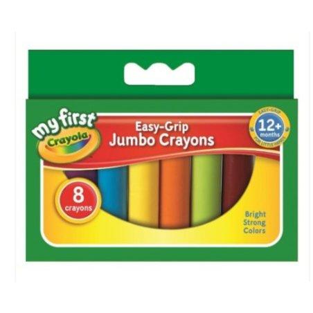Crayola Beginnings Jumbo Crayons - pack of 8