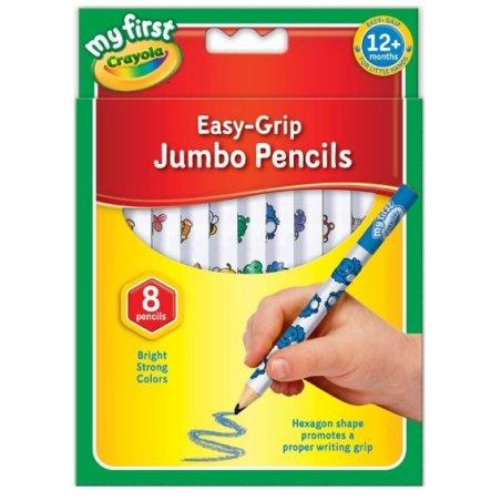 Crayola Beginnings Jumbo Pencils - pack of 8