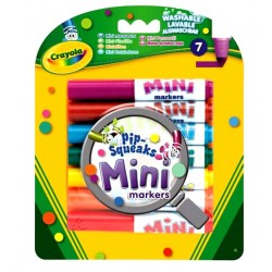 Crayola Pip Squeaks Mini Markers - pack of 7