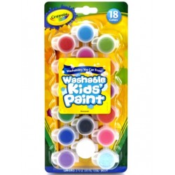 Crayola Kids Paint - pack of 18