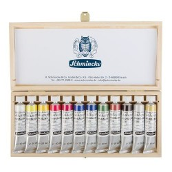 Schmincke Calligraphy Gouache set of 12 x 20ml