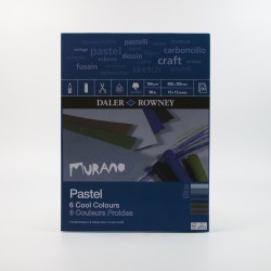 Daler Rowney Murano Pastel pads 160gsm 30 sheets - cool colours