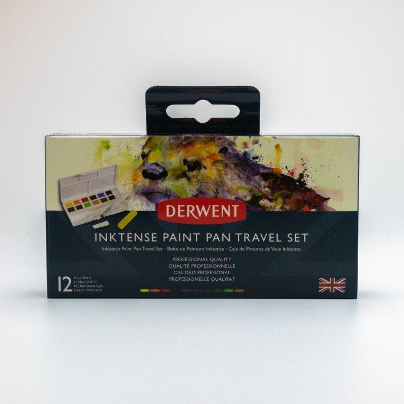 Inktense Paint Pan Travel Set