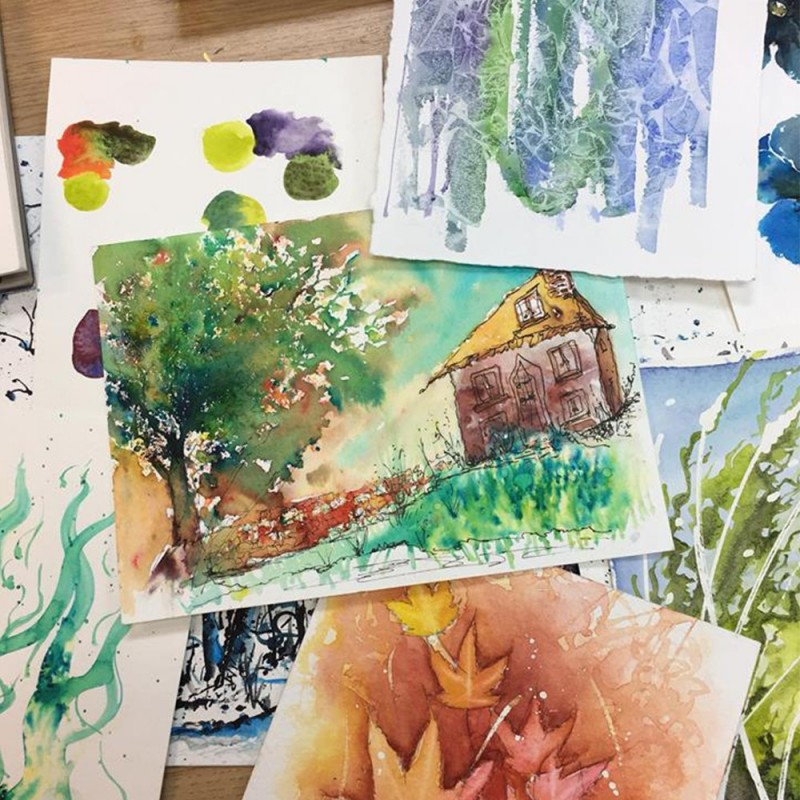 How To Mix and Use Colour - Watercolour Techniques with Mo Childs