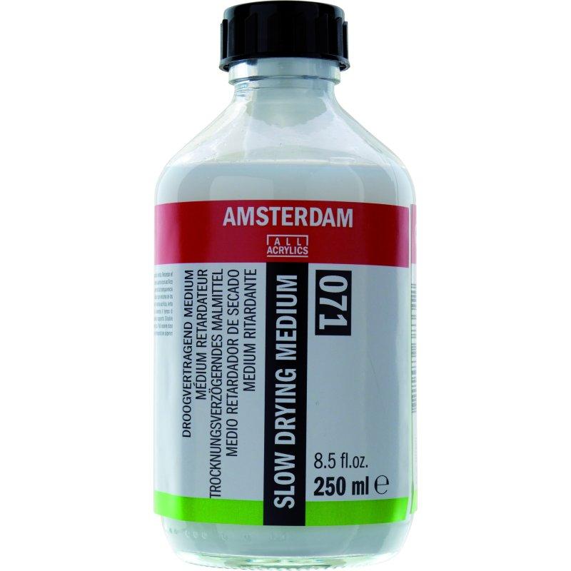 Amsterdam acrylic slow drying medium 250ml