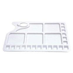Paint Palette - thumb hole - rectangular - large