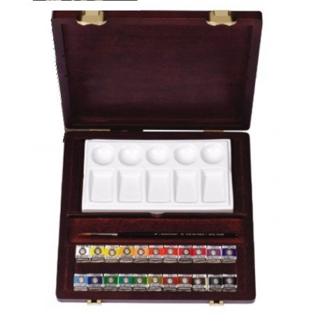Rembrandt watercolour traditional box set - pans