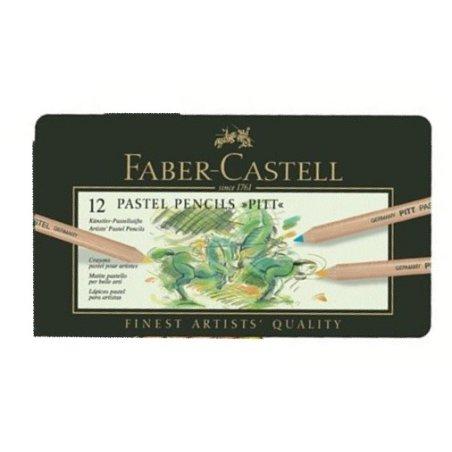 Faber-Castell Pitt Pastel pencils tin of 12