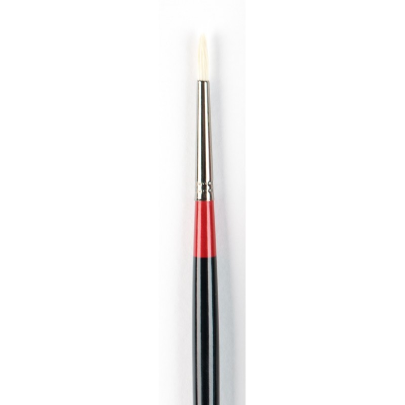Georgian Oil Brushes - G24 - Round - size 1