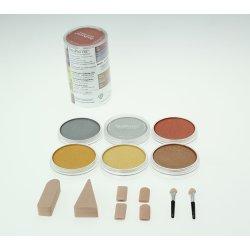 Pan Pastels 9ml - Metallics - set of 6