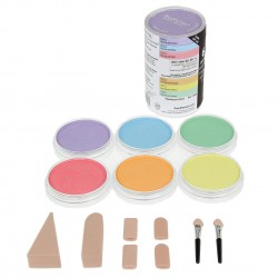 Pan Pastels 9ml - Pearlescent - set of 6
