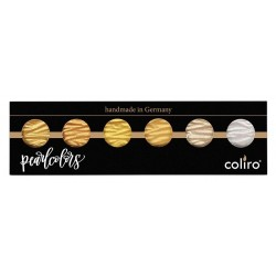 Coliro Gold & Silver - set of 6 colours