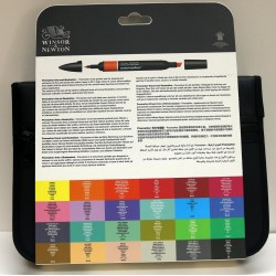 Promarker - set of 24 arts and illustration colours