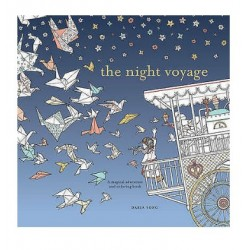 The Night Voyage Colouring Book