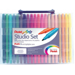 Pentel Arts Studio Colour Pen Set