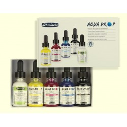 Schmincke Liquid Watercolours - set of 5 x 30ml