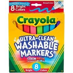 Crayola washable broad line markers
