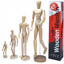Jakar Wooden Manikin Male 8""