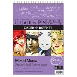Daler-Rowney Optima mixed media spiral Pad