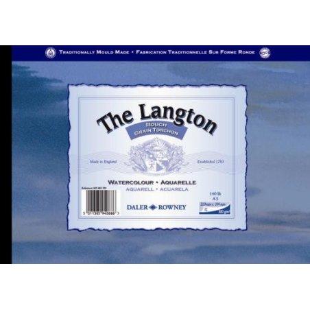 Daler Rowney Langton Watercolour Pad ROUGH surface 140lb 300gsm