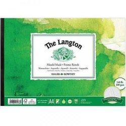 Daler Rowney Langton Watercolour Pad NOT surface 140lb 300gsm A2, A3, A4, A5