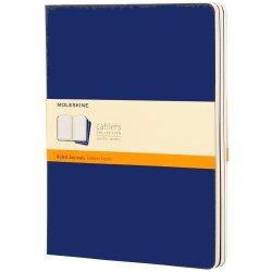 Moleskine  Cahier Journal - XL - Navy - set of 3
