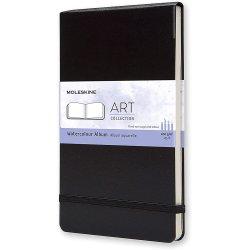 Moleskine Watercolour Album - black - large