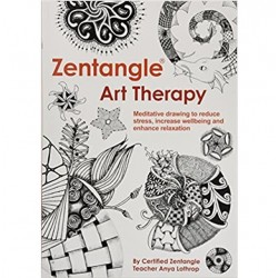 Zentangle Art Therapy by Anya Lothrop