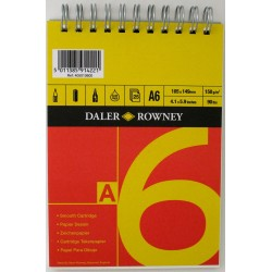 Daler Rowney Red and Yellow Sketch Pads