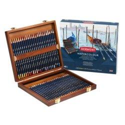Derwent Watercolour pencils wooden box set of 48