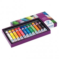 Oil Pastel Starter Set with 12 Colours