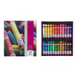 Oil Pastel Basic Set with 24 Colours