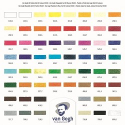 Oil Pastel Complete Collection Set with 60 Colours