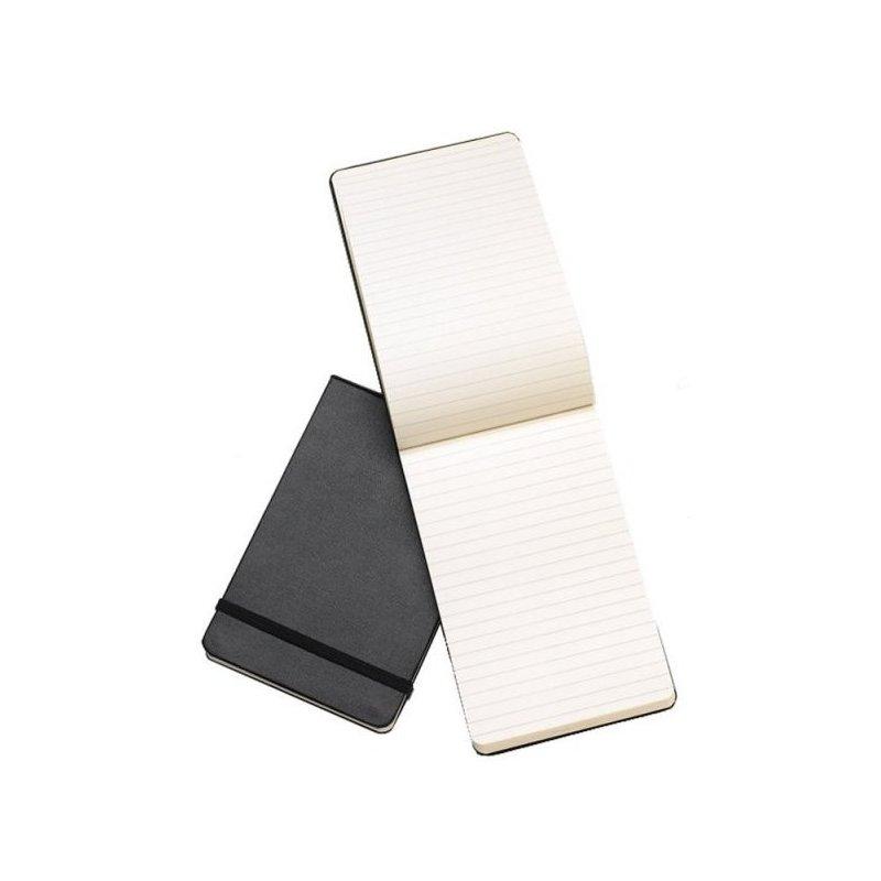 Moleskine Ruled Black Reporter Notebook - Pocket - hard cover - 90 x 140mm