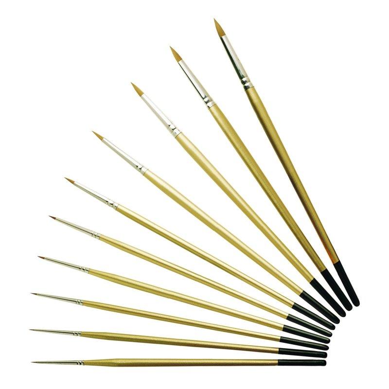 Pro Arte Series 107 Prolene Spotting Brushes