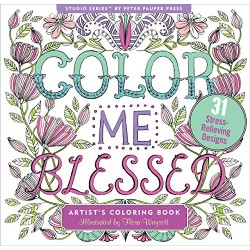 Colour Me Blessed Adult Coloring Book