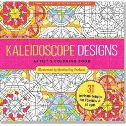 Kaleidoscope Designs Artists Adult Coloring Book