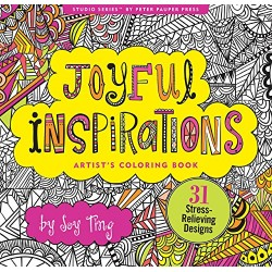 Joyful Inspirations Artists Adult Coloring Book
