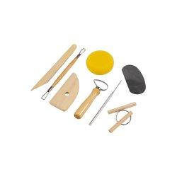 Pottery Tool Kit, 8 Piece Set by Jakar