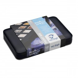 Water Colour Pocket Box Specialty Colours with 12 Colours in Half Pans
