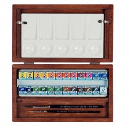The National Gallery Water Colour Wooden Box Set