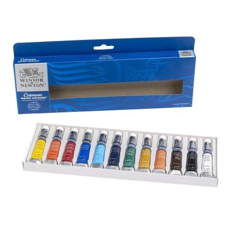 Cotman Watercolours 12 Tube Set