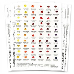 DANIEL SMITH Extra Fine Watercolor 238 Dot Try It Card