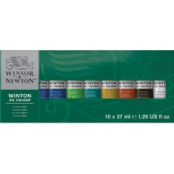 Winton Oil Colour 10x37ml Tube Set