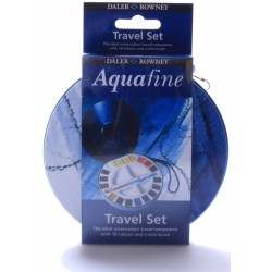 Daler Rowney Aquafine Travel Set 18