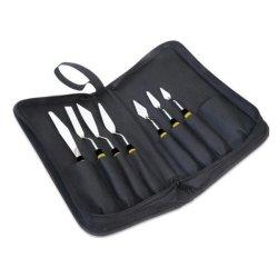 Daler-Rowney Palette Knife Set in Zipped Case