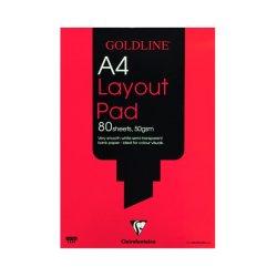 Goldline Layout Pad A4